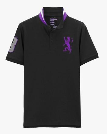 勝利獅王刺繡POLO衫