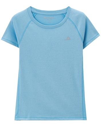 G-MOTION透氣網布拼接運動短袖T恤