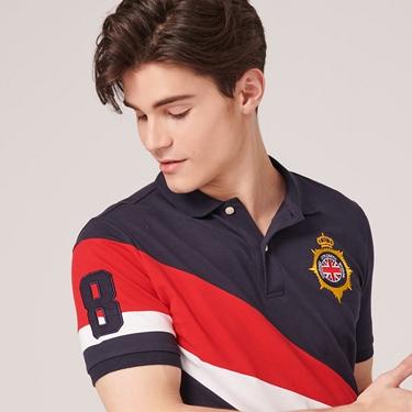 男裝UNION JACK系列短袖POLO衫
