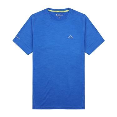 男裝G-MOTION素色LOGO運動短袖T恤