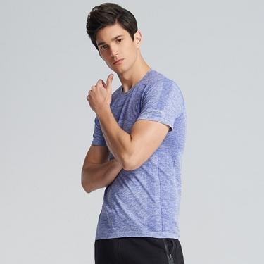 男裝G-MOTION COOLMAX 透氣圓領運動短袖T恤