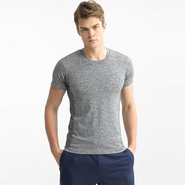 COOLMAX側身無縫透氣運動短袖T恤