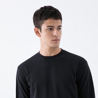 男裝簡約素色大學T恤