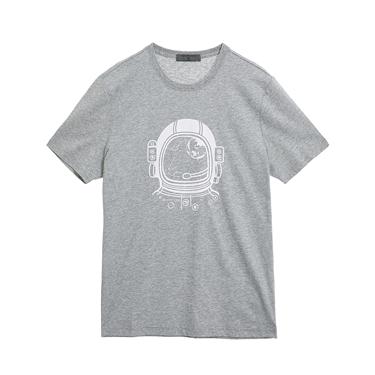 男裝Hello Space印花T恤