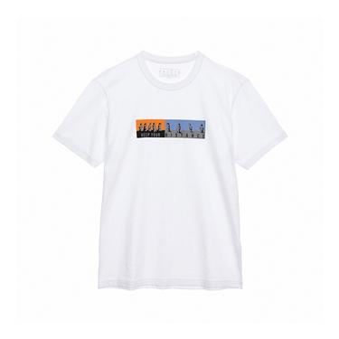 男裝Distance印花T恤