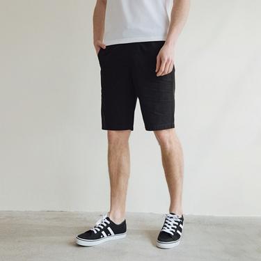 男裝天然棉休閒短褲