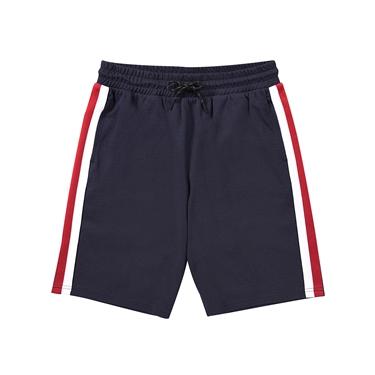 男裝G-MOTION織帶設計針織短褲
