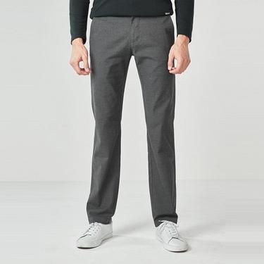 男裝彈力修身錐形長褲