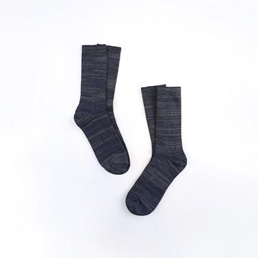 簡約素色中長筒襪(兩對裝)