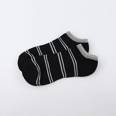 休閒配色彈力舒適短襪(兩雙入)