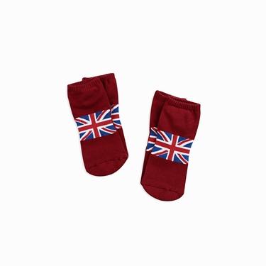 休閒配色彈力舒適短襪(2雙入)