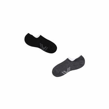 吸汗棉紗足弓防護機能襪(兩雙入)
