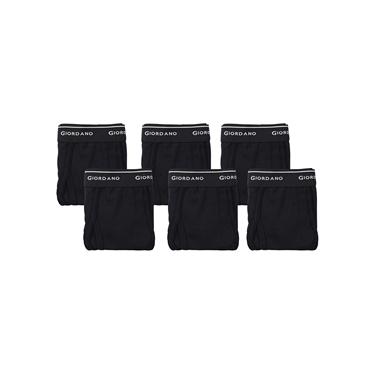 男裝素色棉質三角內褲(六件裝)