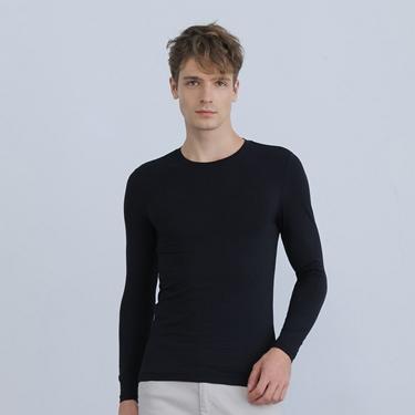 男裝G-WARMER PLUS+圓領極暖衣
