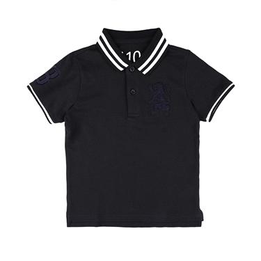 男童勝利獅王短袖POLO衫