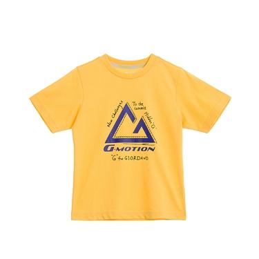 童裝G-MOTION涼感印花T恤