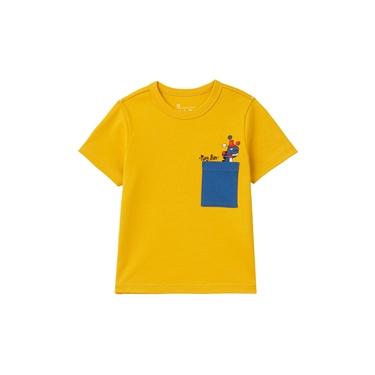 童裝PLAY FUN刺繡口袋T恤