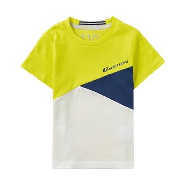 童裝G-MOTION撞色運動T恤