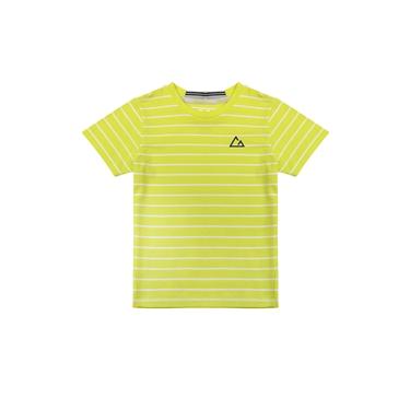 童裝G-MOTION條紋運動彈力T恤