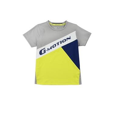 童裝G-MOTION拼色運動彈性T恤
