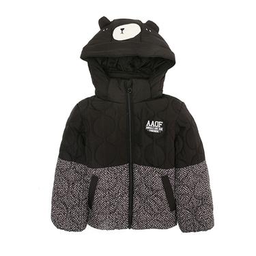 童裝可愛動物造型連帽鋪棉外套