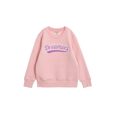 童裝 Dreamers系列復古風大學T恤