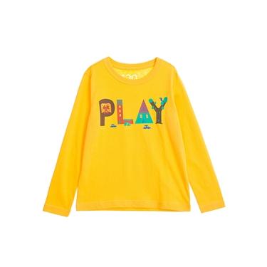 童裝童趣塗鴉風印花長袖T恤