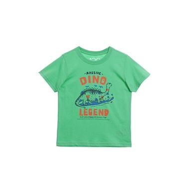 童裝探索塗鴉印花T恤