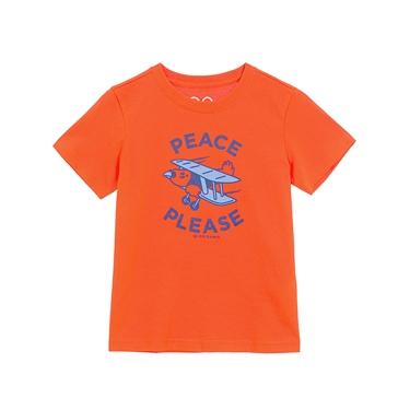 童裝精彩旅程印花T恤