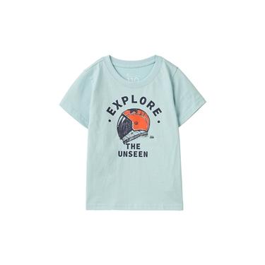 童裝繽紛印花短袖T恤