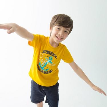 童裝探索玩樂印花短袖T恤