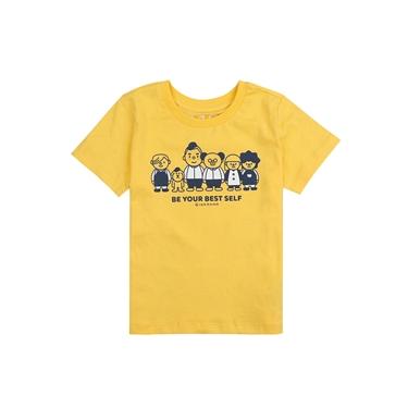 童裝可愛人物插圖印花T恤