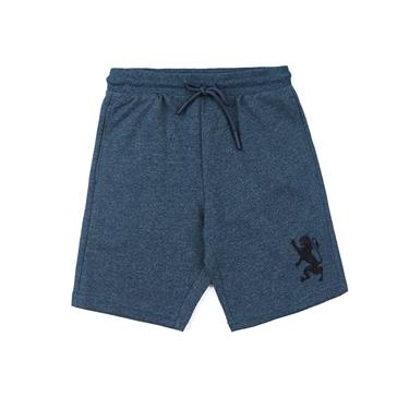 童裝獅王刺繡針織短褲