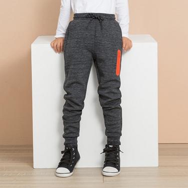 童裝G-MOTION素色羅紋抽繩休閒束口褲