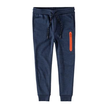 童裝內鋪絨保暖口袋束口褲