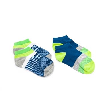 童裝繽紛撞色短襪(兩雙入)