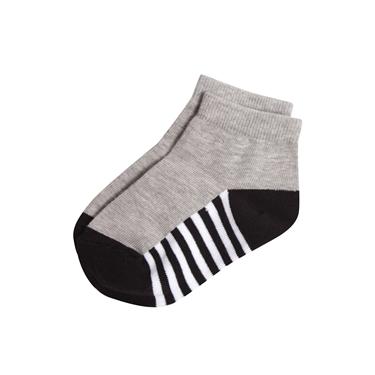 童裝條紋撞色短襪