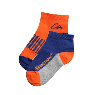 童裝G-MOTION撞色條紋短襪(兩雙入)