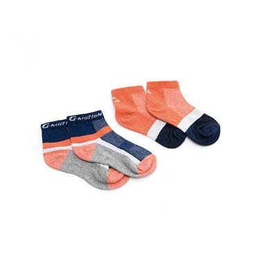 童裝G-MOTION抗菌消臭踝襪(兩雙入)