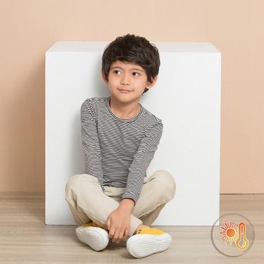 童裝G-Warmer彈力舒適圓領極暖衣