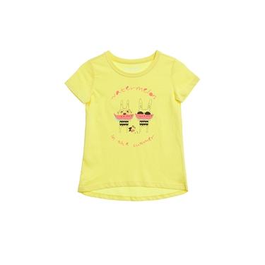 童裝前短後長水果系列T恤