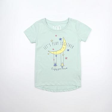 童裝夢幻童話印花純棉T恤