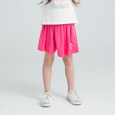 童裝棉質素色印花褲裙