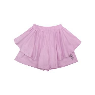 童裝荷葉邊可愛印花褲裙