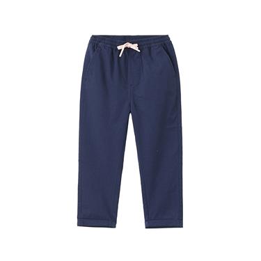 童裝純棉抽繩休閒褲