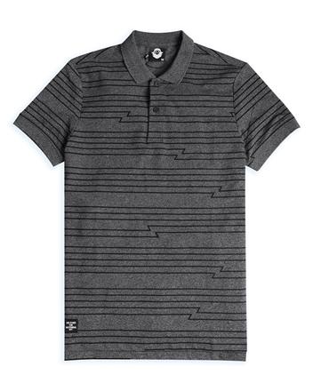 男裝VON線條設計POLO衫