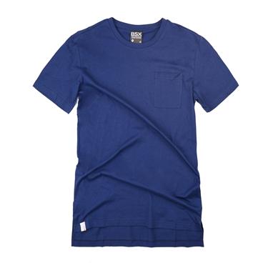男裝純棉口袋T恤