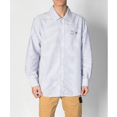 男裝VON寬鬆條紋襯衫