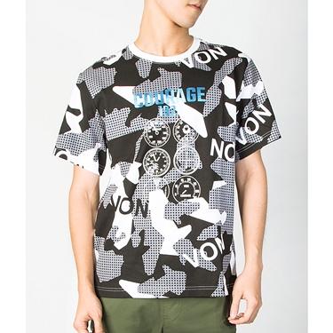 男裝VON迷彩印花T恤