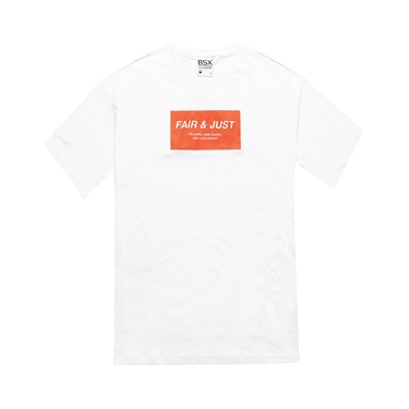 中性款VON品牌標語Oversize純棉T恤